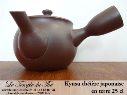 Théière du Japon Kyusu marron 25 cl