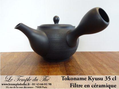 TOKONAME Kyusu avec filtre en céramique 350 ml
