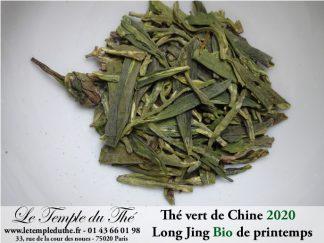 Thé vert de Chine Long Jing BIO 2020