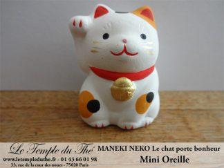 Maneki-Neko Le chat porte bonheur mini oreille