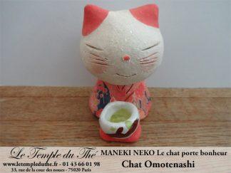 Maneki-Neko Le chat porte bonheur Omotenashi