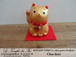 Maneki-Neko Le chat porte bonheur