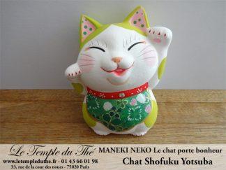 Maneki-Neko Le chat porte bonheur Shofuku Yotsuba
