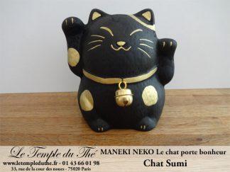 Maneki-Neko Le chat porte bonheur Sumi