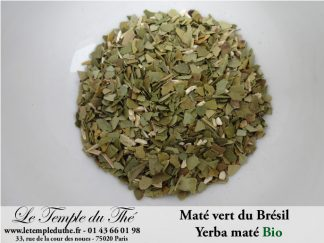 Maté vert du Brésil yerba maté BIO
