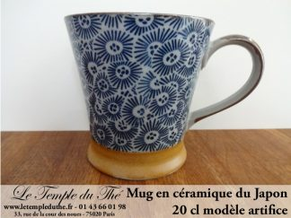 Mug en céramique japonais modèle artifice 20 cl