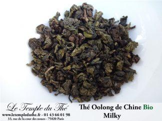 Thé Oolong (Wulong) de Chine MILKY BIO