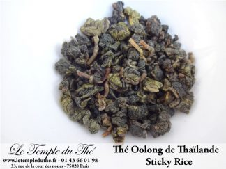Oolong de Thaïlande Sticky Rice