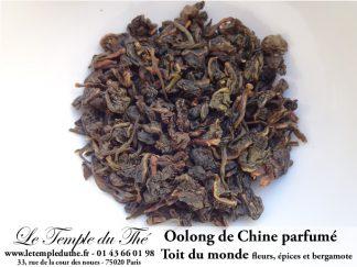 Thé Oolong de Chine Le toit du monde (jasmin, lavande…)