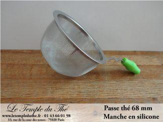 Passe thé manche silicone 68 mm