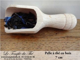 Pelle à thé en bois de 7 cm