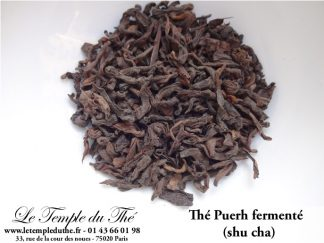 THE PUERH FERMENTE SHU CHA