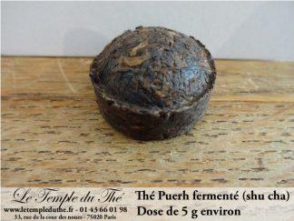 Thé Puerh fermenté (shu) en dose de 5 g