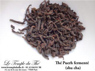 Thé Puerh fermenté