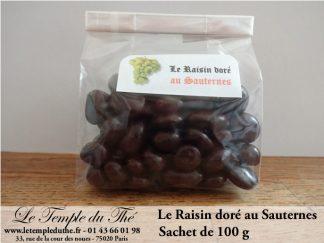 Raisin doré au Sauternes
