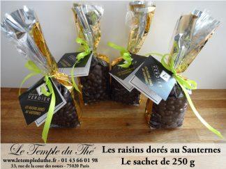 Les raisins dorés au Sauternes le sachet de 250 g