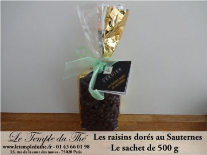 Raisin doré du Maître chocolatier sachet de 500 g