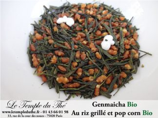 Genmaicha Bio thé vert du Japon Bio de Kagoshima