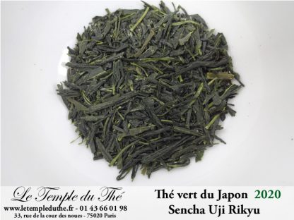 Thé du Japon petits producteurs Sencha Uji RIKYU printemps 2020