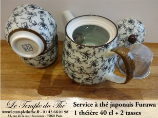 THEIERES ET SERVICES EN PORCELAINE DU JAPON
