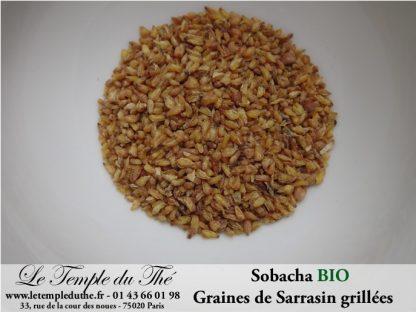 Graines de Sarrasin BIO grillé SOBACHA