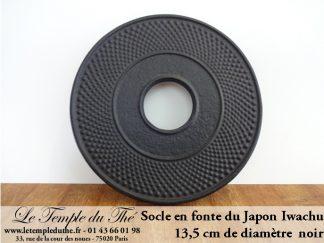 TASSES ET SOCLES EN FONTE DU JAPON