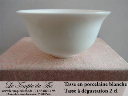 Tasse de dégustation en porcelaine 2 cl