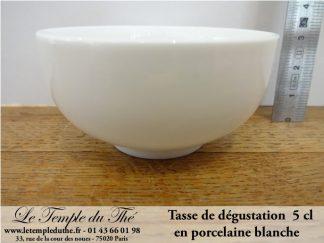 Tasse à thé de 5 cl pour la dégustation du thé