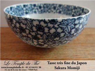 Tasse très fine japonaise Sakura Momiji