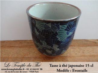 Tasse à thé du Japon 15 cl modèle Eventails