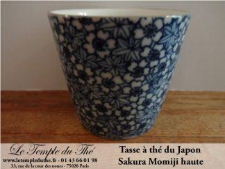 Tasse à thé du japon haute Sakura Momiji