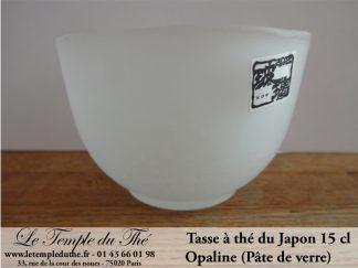 Tasse à thé japonaise en opaline