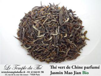 Thé vert de Chine jasmin Mao Jian bio