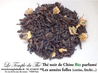 Thé noir BIO de Chine parfumé Les Années Folles
