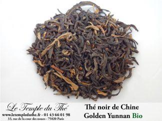 Thé noir de Chine Golden Yunnan BIO
