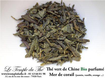 Thé vert de Chine BIO Mer de corail