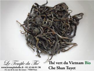 Thé vert du Vietnam BIO Che Shan Tuyet printemps 2019