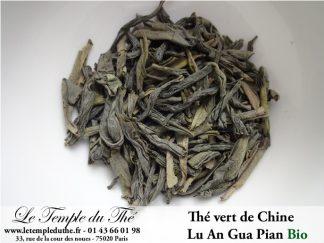 Thé vert de Chine Lu An Gua Pian BIO
