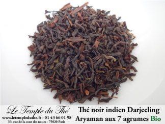 Aryaman thé noir Bio indien aux 7 agrumes