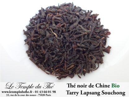 Lapsang Souchong Tarry Bio Thé fumé