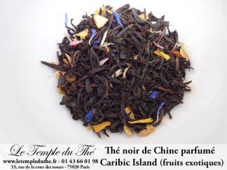 Thé noir de Chine Parfumé Caribic Island