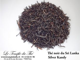 Thé noir du Sri Lanka Silver Kandy FBOPF