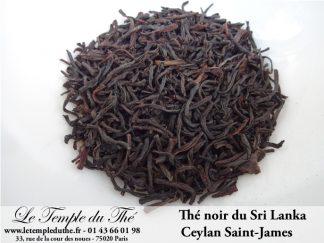 THES NOIRS DU SRI LANKA