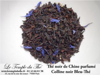 Thé noir de Chine Colline noir Bleu-Thé