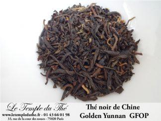 Thé noir de Chine Golden Yunnan GFOP