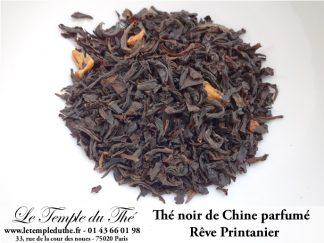 Thé noir de Chine Rêve printanier (amandes et épices)