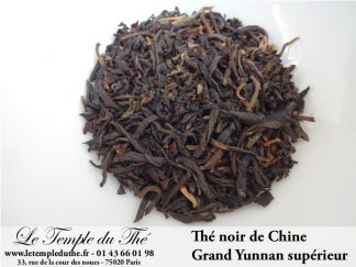 Thé noir de Chine Grand Yunnan Supérieur G.F.O.P