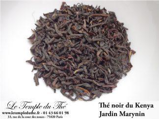 THES NOIRS DU KENYA ET DE THAILANDE