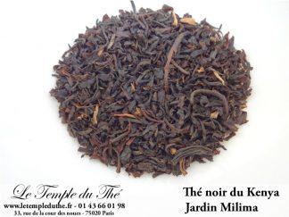 Thé noir du Kenya jardin Milima GFOP