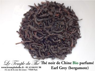 Thé noir parfumé Earl Grey BIO